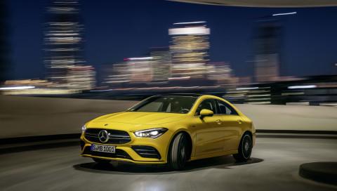 Weltpremiere in New York: Mercedes-AMG präsentiert den CLA 35 mit 306 PS