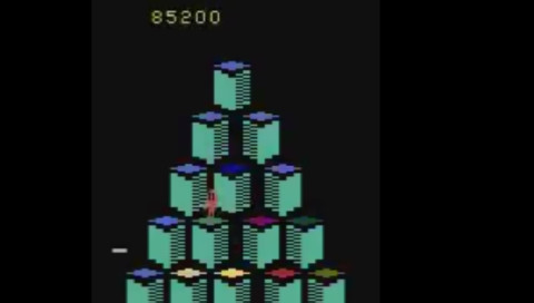 Eine KI erreicht im Retro-Game Q*bert einen unmöglichen Highscore