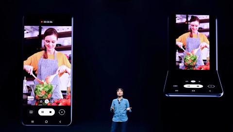 Razr lässt grüßen: Samsung präsentiert neues Fold-Klapphandy
