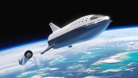 Neue Rakete: SpaceX benennt Big Fucking Rocket um