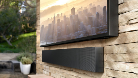 Samsung zeigt Home-Entertainment für den Außenbereich