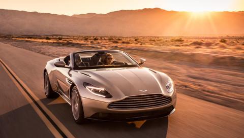 Aston Martin eröffnet die Cabrio-Saison