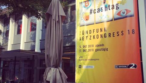 #cashtag live: Der Zündfunk Netzkongress 2018 im Stream