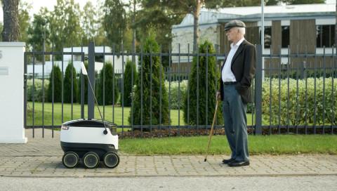 Hermes testet Lieferroboter in Hamburg und Düsseldorf