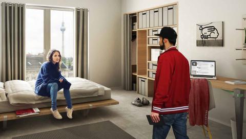 In Berlin entsteht eine riesige Smart-Home-WG für Gutverdiener