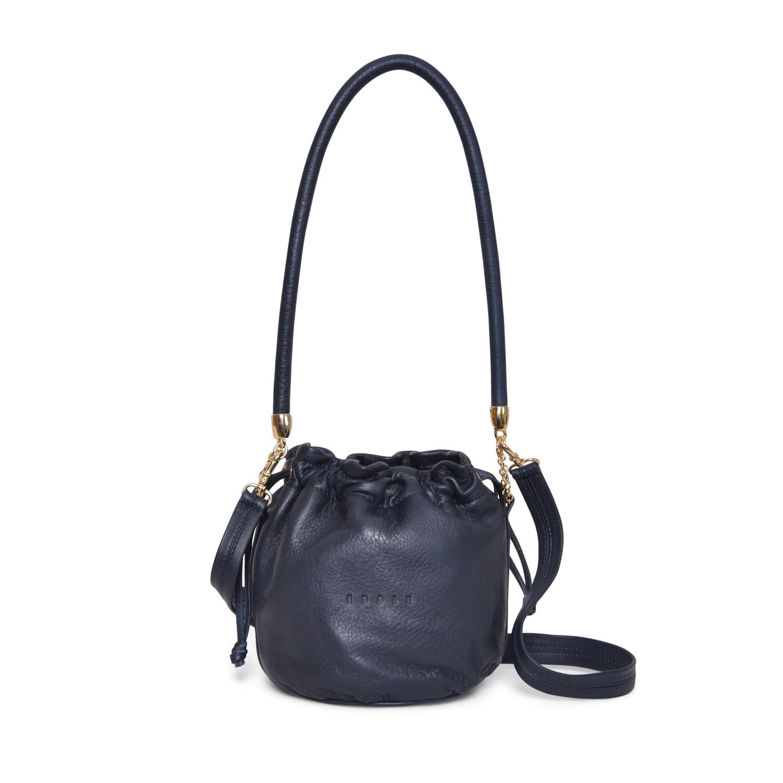 Eddie - Anna Mini Bucket Bag Navy