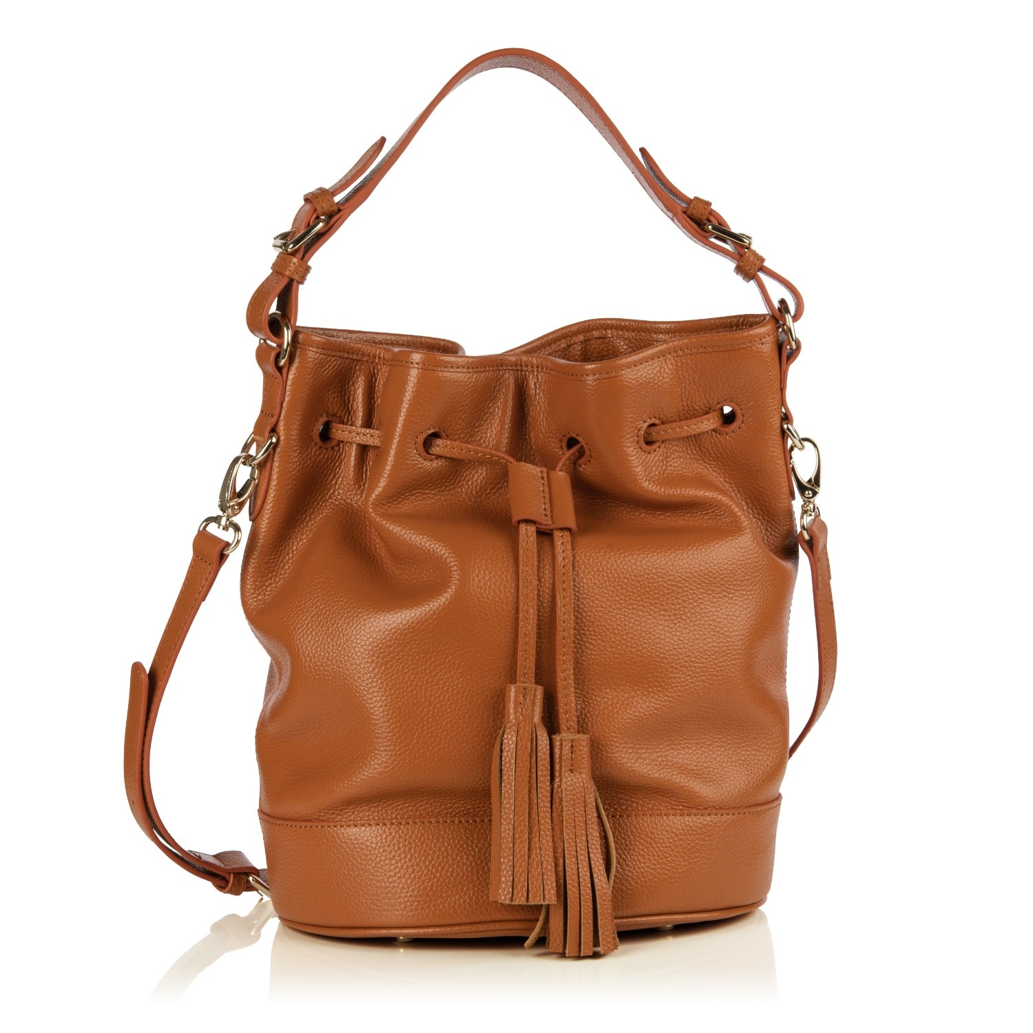 Nadia Minkoff - The Islington Bucket Bag Cognac