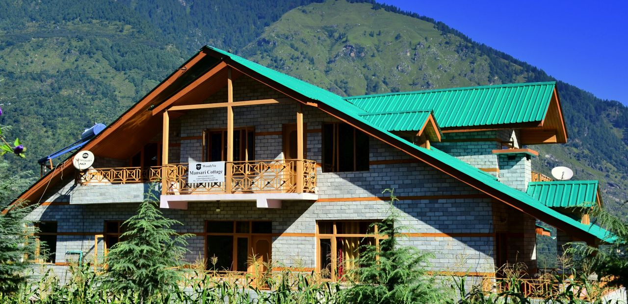 Woodyvu Mansari Cottage, Manali
