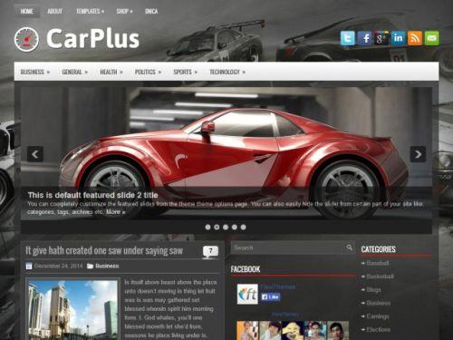 Carplus - WordPress Theme