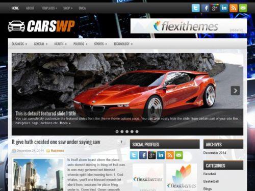Carswp - WordPress Theme