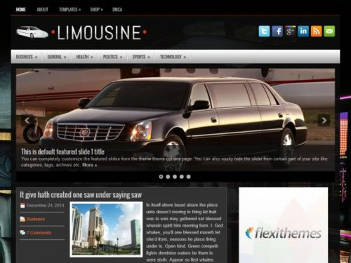 Limousine - WordPress Theme
