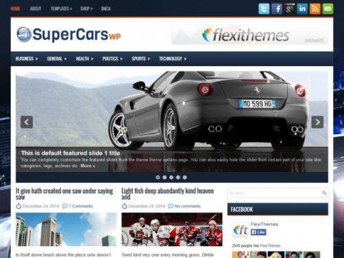 SuperCarswp - WordPress Theme