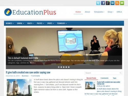 Educationplus - WordPress Theme