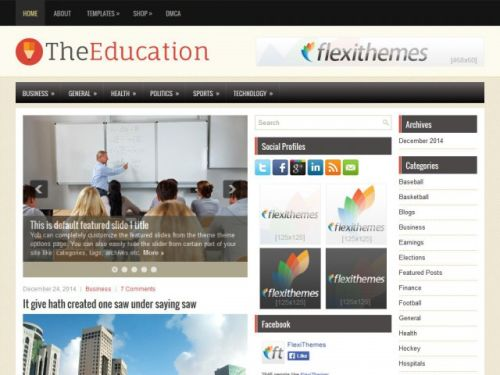 TheEducation - WordPress Theme