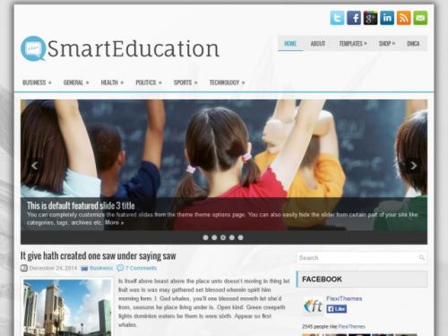 SmartEducation - WordPress Theme