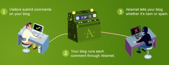 Akismet Plugin - WordPress Theme
