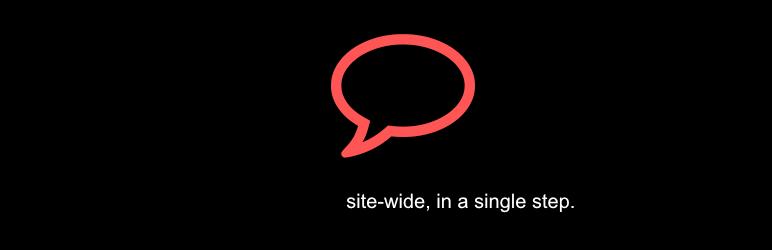 Disable Comments Plugin - WordPress Theme