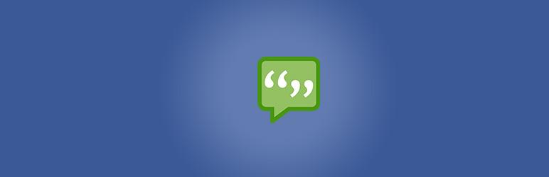 Facebook Comments Plugin - WordPress Theme