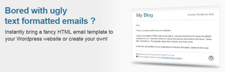 Wp Better Emails - WordPress Theme