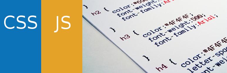 Simple Custom CSS And JS - WordPress Theme