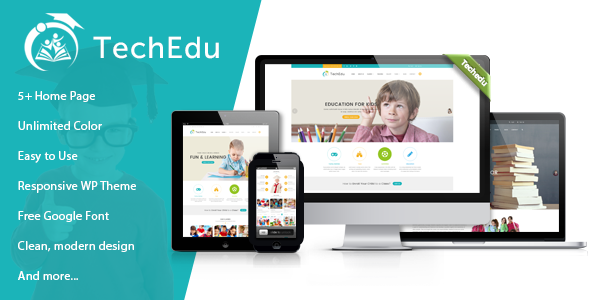 Techedu Education WordPress Theme - WordPress Theme