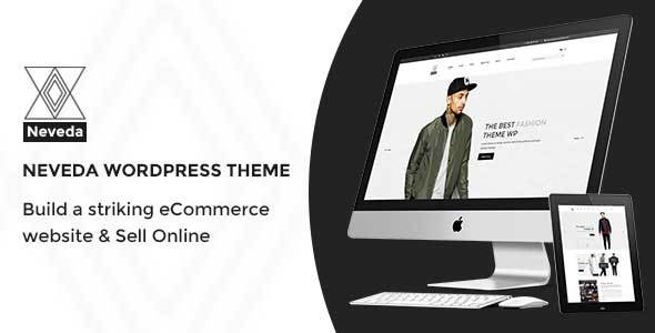 Neveda Responsive Fashion Ecommerce WordPress Theme - WordPress Theme