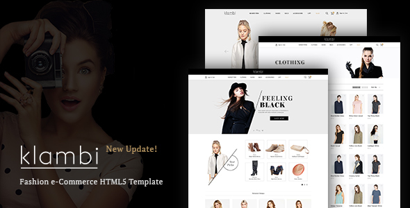 Klambi Lightweight Ecommerce Fashion Theme - WordPress Theme