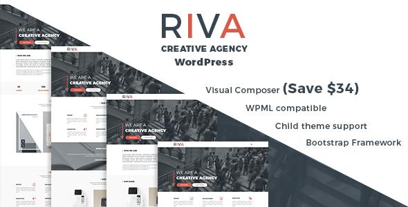 Riva Creative Agency And Portfolio WordPress Theme - WordPress Theme