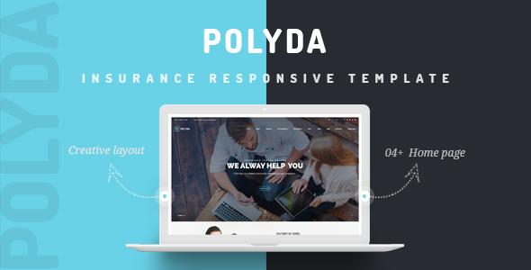Vg Polyda WordPress Theme For Insurance Agency - WordPress Theme