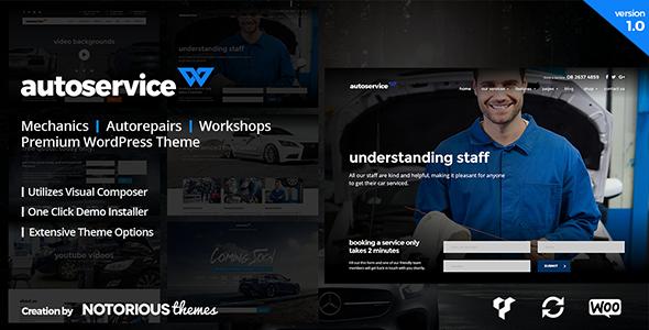 Autoservice Car Mechanics Auto Repairs And Car Workshops – WordPress Theme - WordPress Theme