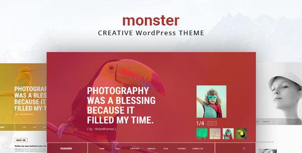 Monster Creative Theme - WordPress Theme