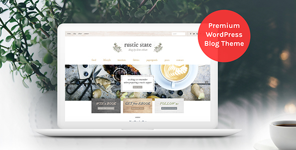 Rustic State WordPress Theme - WordPress Theme