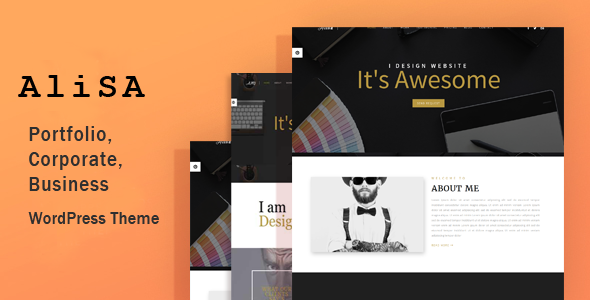 Alisa Responsive WordPress Theme - WordPress Theme