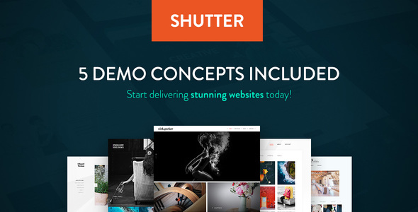 Shutter Photography WordPress Theme - WordPress Theme