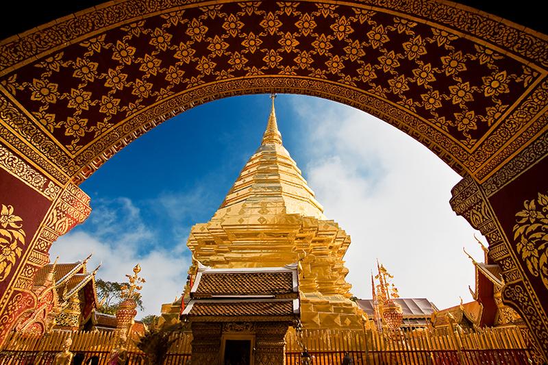 Templo de Doi Suthep en Chiang Mai