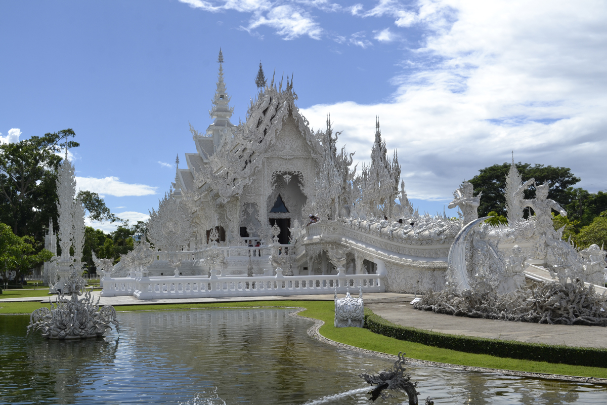 Templo Blanco, Chiang Mai, Tailandia