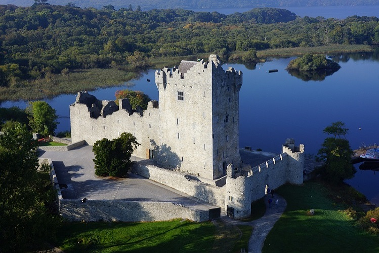 ross castle, vista general, killarney