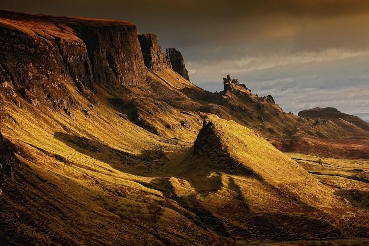 Paisaje del Quiaring, Isla de Skye. Imagen de Frank Winkler