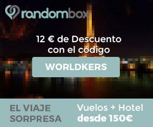 Randombox, el viaje sorpresa por Europa - Worldkers