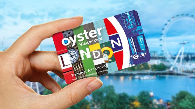 Tarjeta Oyster para ver Londres en 3 días