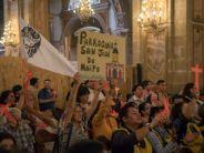 Más de mil voluntarios papales se reunieron en la Catedral de Santiago