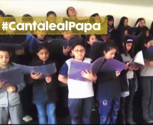 ¡Cántale al Papa! Realiza tu propia versión del himno de Francisco en Chile
