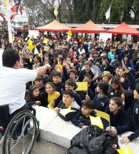 Con gran éxito se realizó masiva <br>Fiesta por la Paz y la Alegría en Talagante