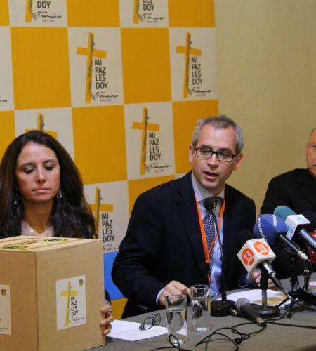 """""""Papa Francisco, yo lo invito"""": Comisión lanza la campaña de financiamiento"""