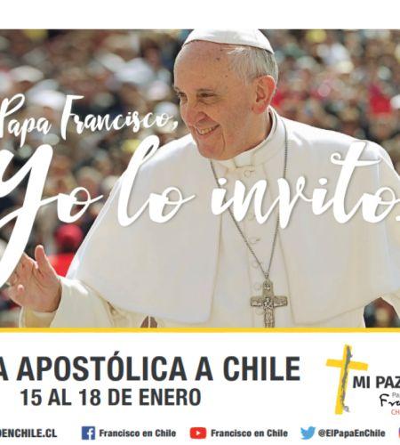 """Hasta por Whatsapp las comunidades católicas incentivan la campaña """"Papa Francisco, yo lo invito"""""""