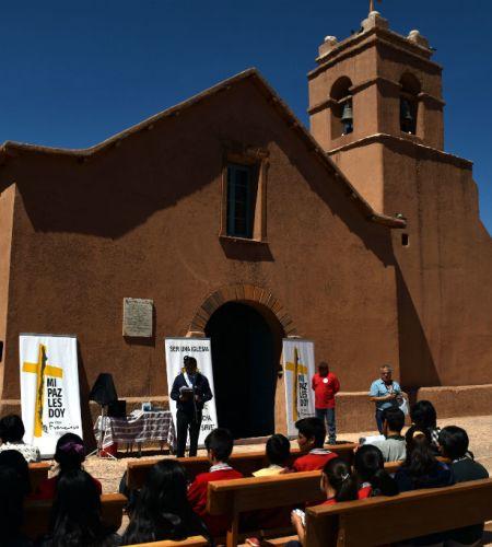 Iglesia de Calama llama a encuentro con Francisco desde parroquia de San Pedro de Atacama