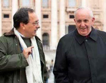 Biógrafo argentino y el Papa frente al empresariado: