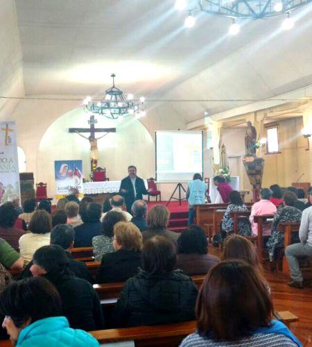 Comisión realiza gira informativa por las parroquias de la Diócesis de Temuco