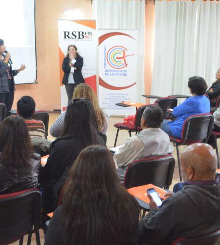 La Serena: Comunicadores y agentes pastorales se preparan para la visita de Francisco
