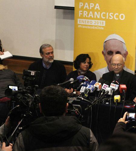 Comisión confirma las actividades de Francisco en Chile